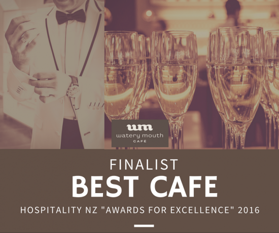Finalist for best cafe Watery Mouth Cafe